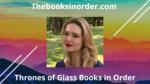 throne of glass series, throne of glass series in order