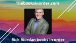Rick Riordan books in order